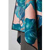 Single Full Size Towel Banana Leaf Teal