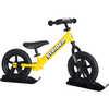 """12"""" Balance Bike Snow Kit Black"""