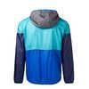 Teca Half-Zip Windbreaker Blue Print