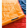 Homestead Rec -7C Sleeping Bag Sunbaked Red/Flame Orange