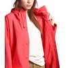 Manteau imperméable Woodmont Rouge Barolo/Rouge Cayenne