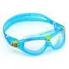 Lunettes de natation Seal 2 Transparent/turquoise/lime