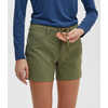"Terrena Stretch 5"" Shorts Green Olive"
