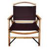 Chaise en bambou Kanpai Brown