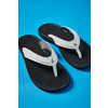 Sandales Ohana Blanc/Noir