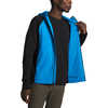 Ventrix Active Trail Hybrid Hoodie Clear Lake Blue/TNF Black