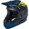 Zoka Cycling Helmet Eon Matte Black/Florissant Yellow/Teal