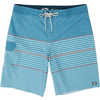 Short de surf All Day Heather Stripe Pro Harbour Blue