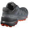 Chaussures de course sur sentier Speedcross 5 Black/Stormy Weather/Red Orange