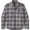 Fjord Lightweight Flannel Shirt Lawrence: Salt Grey