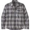Fjord Lightweight Flannel Shirt Lawrence: Salt Grey