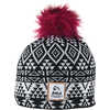 Tuque ZigZag Black/Fuschia