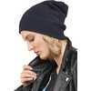 Merino Wool Beanie Ink Blue