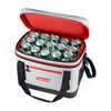 30-Can Portable Soft Side Marine Cooler Grey