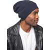 Merino Wool Cap Ink Blue