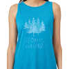 Forest Tank Blue Lake Blue Heather