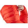 Manteau à capuchon en duvet Expedition Pack True Red