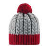 Pohjola Wool Blend Beanie Lingonberry Red
