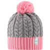 Pohjola Wool Blend Beanie Bubblegum Pink