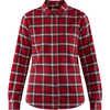 Ovik Flannel Shirt Deep Red