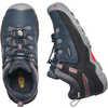 Targhee Low Waterproof Shoes Blue Nights/Red Carpet