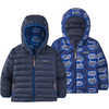 Reversible Down Sweater Hoody The Fantastics: Superior Blue
