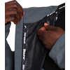 The Brockton Rain Jacket Charcoal