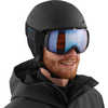 Pioneer LT Helmet Black Silver