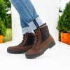 Spruce Mountain Waterproof Warm Lined Boots Dark Brown Nubuck