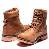 "Rugged II 6"" Waterproof Boots Rust Full Grain"