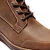 Graceyn Waterproof Mid Lace Side Zip Boots Rust Full Grain