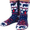 Fleece Socks Polar Bear