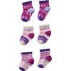 Bootie Batch Socks Pink Nectar