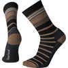 Chaussettes mi-mollet Hike Light Striped Noir