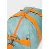 Sac de sport recyclé Sea Salt Blue/Orange Zest