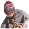 Hearts and Owls Beanie Persimmon