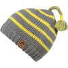 Frosty Stripe Beanie Canary