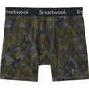 Merino 150 Print Boxer Briefs Military Olive Mountains For Days Print
