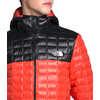 Manteau à capuchon ThermoBall Eco Fusée/noir TNF