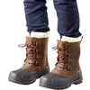 Canada Waterproof Winter Boots Brown