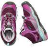 Chaussures de randonnée imperméables Terradora Mid Mûre de Boysen/Violet rouge