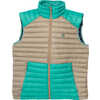 Boundary Light Down Vest Baltic Sea/Clay