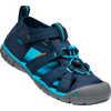 Seacamp ll CNX Sandals Black Iris/Vivid Blue