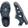 SOLR Sandals Navy/Steel Grey