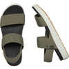 Elle Backstrap Sandals Dusty Olive