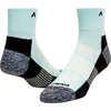 Attain Repreve Midweight Quarter Socks Aqua