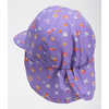 Littles Sun Buster Hat Pop Purple Rainbows End Print