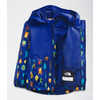 Zipline Rain Jacket Bolt Blue Critter Crawl Print
