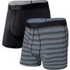 Quest Boxers (2 Pack) Sunrise Stripe/Black II