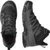 Chaussures de courte randonnée X Ultra Mid 4 GTX Noir/aimant/bleu perle